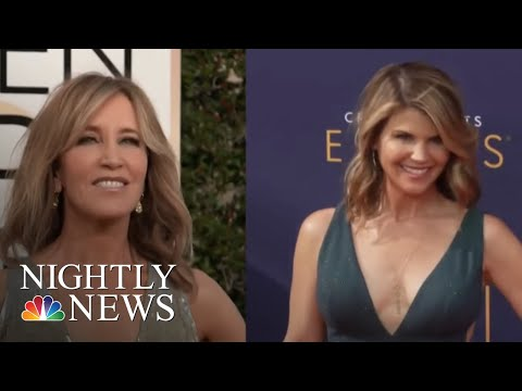 Felicity Huffman, Loughlin Among The 50 Charged In College Exam Cheating Scandal | NBC Nightly News