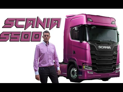 Scania S500 The Next generation 2016