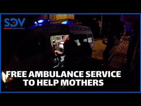 Free ambulance services to help mothers after dark in Kenya amid coronavirus restrictions