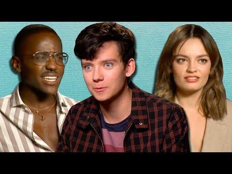Netflix's 'Sex Education' Cast Spill Their Secrets From School | PopBuzz Meets Mp3