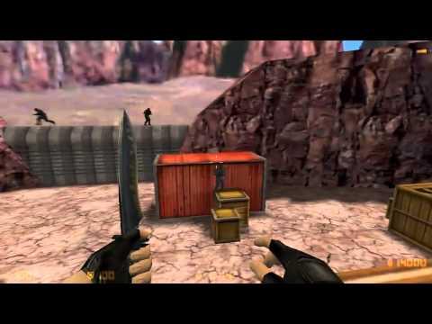 Как выиграть knife-раунд в CS 1.6