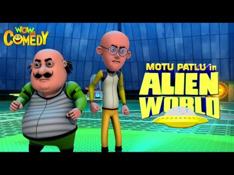Motu Patlu in Alien World   MOVIE  Full Movie for kids   Wowkidz Comedy