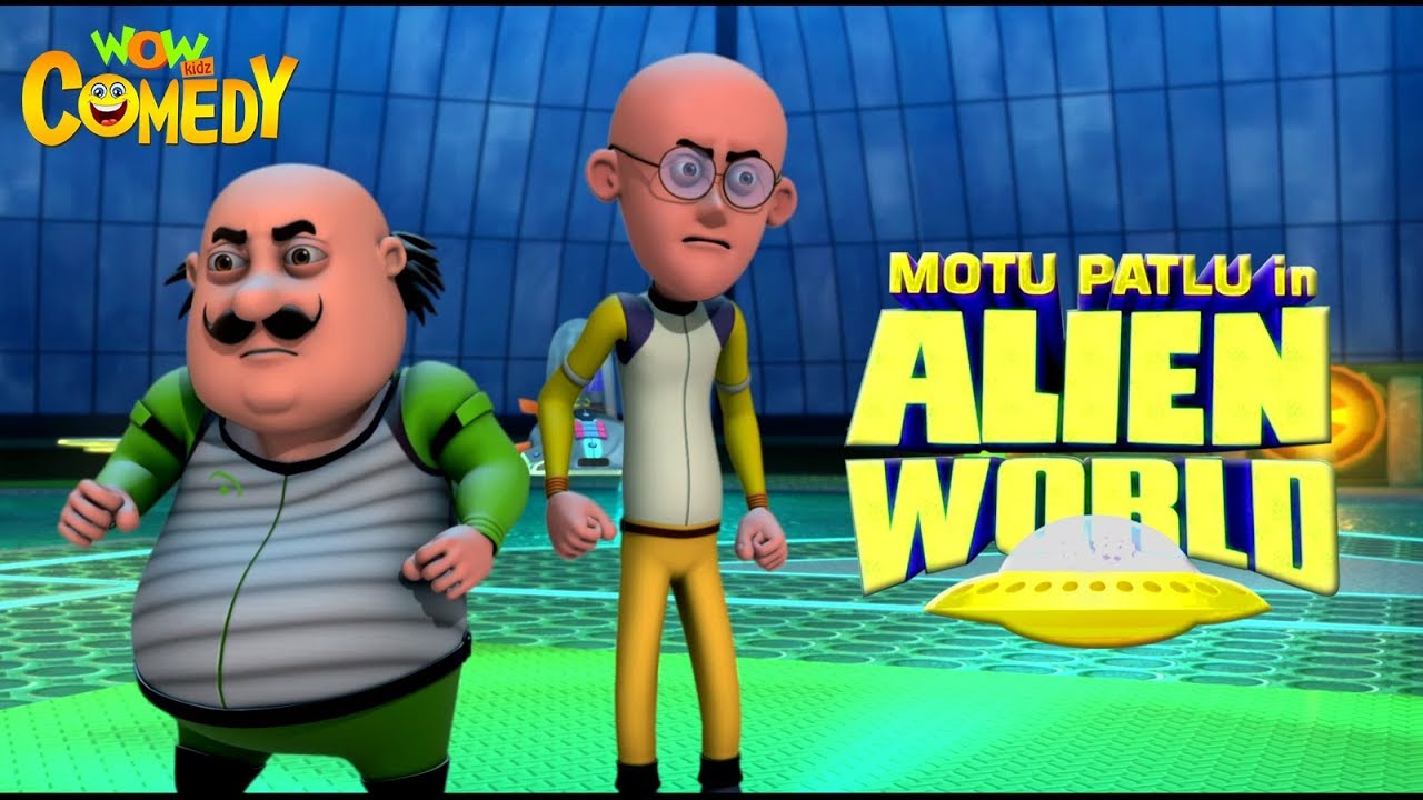 Motu Patlu in Alien World | MOVIE| Full Movie for kids | Wowkidz Comedy