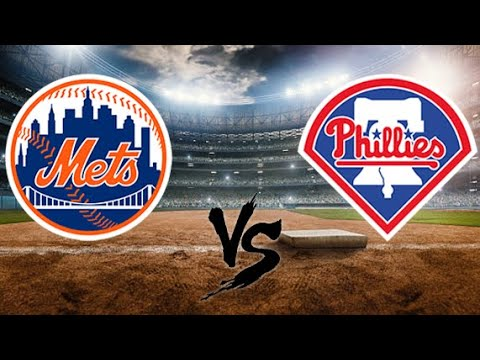 New York Mets vs Philadelphia Phillies Play by Play & Reaction Game 2