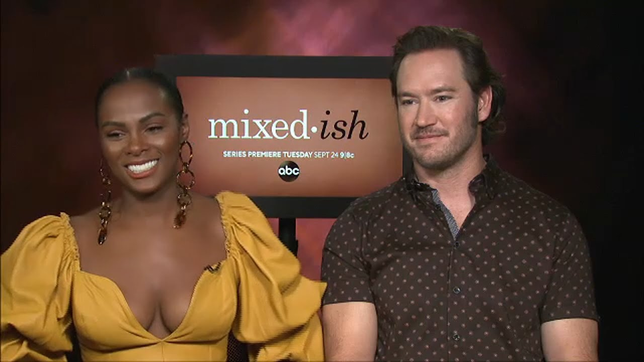Download Mark-Paul Gosselaar, Tika Sumpter talk about playing parents on 'Mixed-ish'