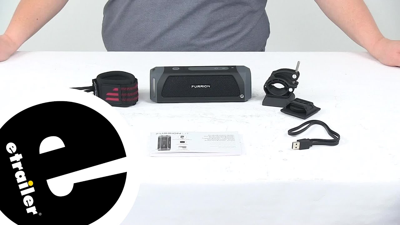 Review of Furrion Camping and Hiking - Waterproof Bluetooth Speaker Kit -  FBS012NVPBL - etrailer com