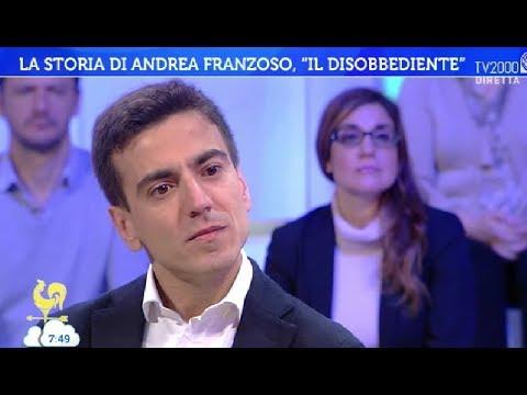 """La storia di Andrea Franzoso, """"il disobbediente"""""""