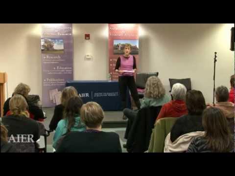 Women Entrepreneurs, Solopreneurs & Micropreneurs. AIER Women's Financial Empowerment, 11/13/12