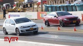 Mustang v C63 v A45  v Golf GTI v Chevelle v Challenger | 12 seg. 2da válida. Piques B/quilla 2018