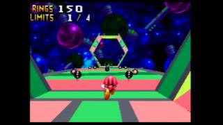 Knuckles Chaotix Quick Play [60FPS] (Sonic Month)