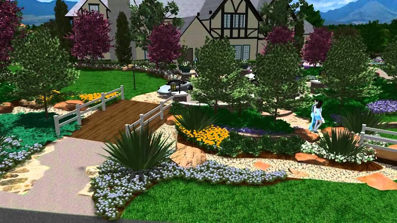 3d landscape design - virtual presentation