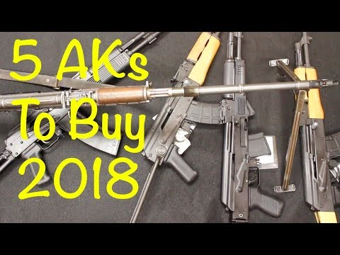 5 AK Patterns to Buy -2018