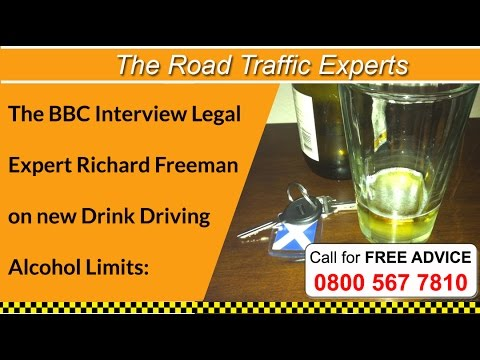 Richard Freeman Interview with BBC on Drink Driving