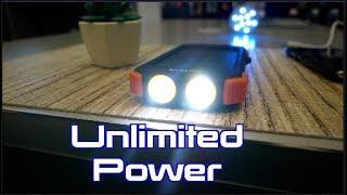Blavor  Solar Power Bank, Qi Portable Charger 10,000mAh