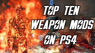 Top 10 weapon mods for Fallout 4 on PS4