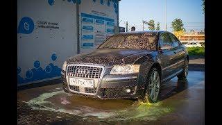Audi S8 - Как попасть на замену двигателя