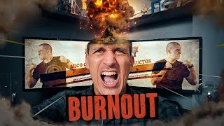BURNOUT no YouTube | Vlog Gaveta #1