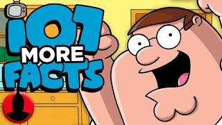 107 MORE Family Guy Facts - (ToonedUp #162) | ChannelFrederator