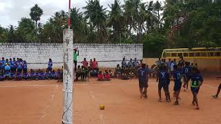 Zonal match  2018 cheran vs kvv