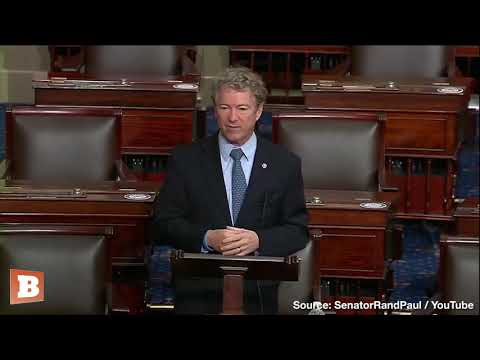 """Rand Paul Rips """"Monstrous"""" Coronavirus Relief Bill — Pitches Opening the Country Instead"""