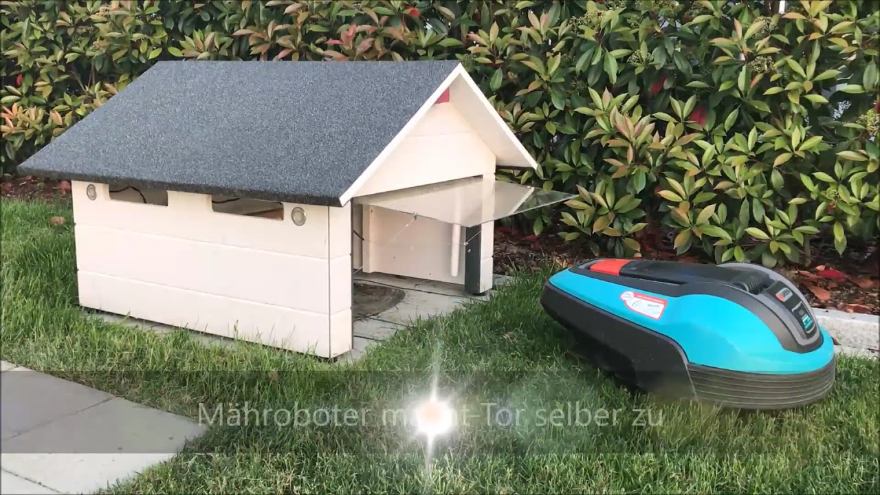 m hroboter garage f r automower 310 315 430x 450x gardena. Black Bedroom Furniture Sets. Home Design Ideas