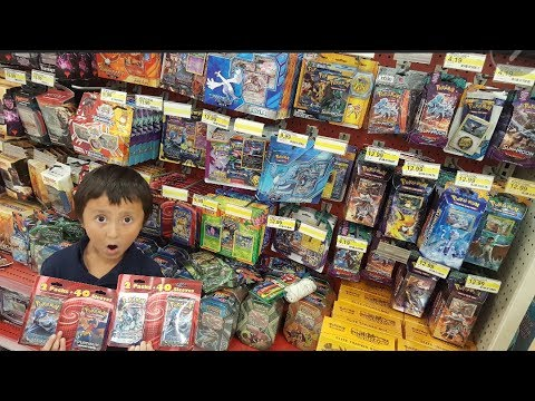 WE GOT CHASED BY A KILLER INSIDE TARGET WHILE HUNTING TOYS AND THE RAREST POKEMON CARDS EVER FOUND!
