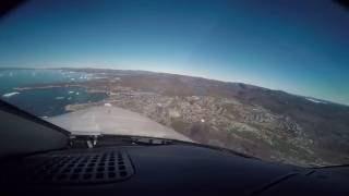 tbm 850 flight to ilulissat greenland