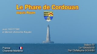 Le 10/05/2016 :  Phare de Cordouan en Kayak