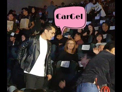Carlo Aquino at Angelica Panganiban reunited at Meet Me in St Gallen Celebrity Screening