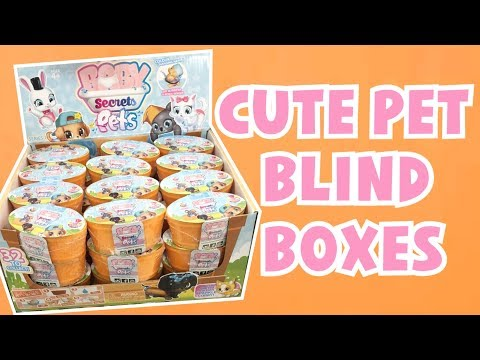 NEW CUTE PET BLIND BOXES?! ULTRA RARE FOUND! | Baby Secrets Pets Colour Change Blind Boxes ♡