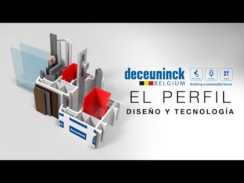 Perfil Deceuninck   Diseño y tecnología