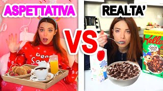 ASPETTATIVA VS REALTÀ MORNING ROUTINE