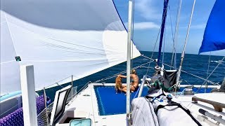The Most Relaxing Spinnaker Sailing You