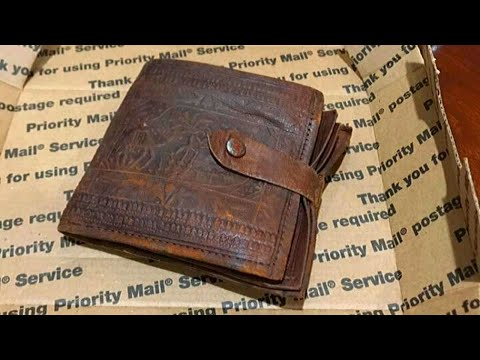 Man Finds Old Wallet, Opens It Up To Find It Untouched After 53 Years