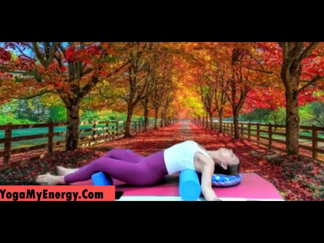 Gentle Yin Yoga with deep stretches for back, shoulders, neck , legs and hips.
