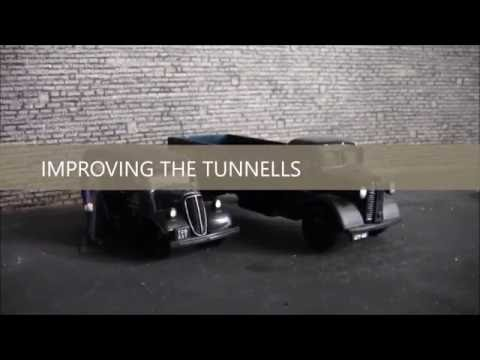 Building a OO Gauge Layout (metcalfe tunnel improvement) No27