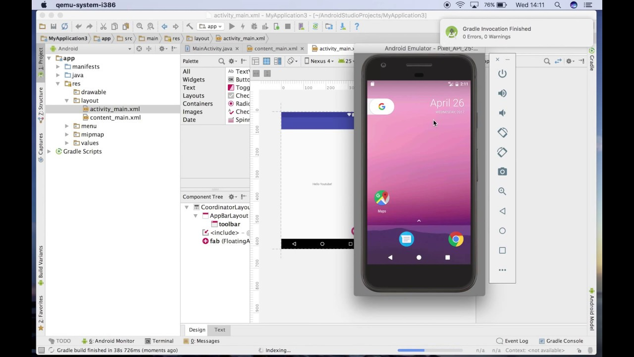 how to create an android app and make money