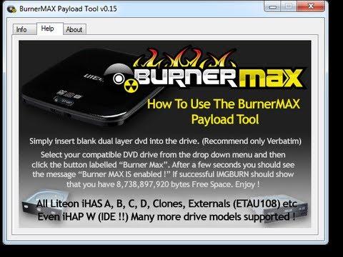 burnermax payload tool v0.15