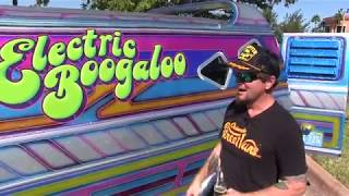 Electric Boogaloo makes Debut. 1977 Dodge Street Van. House of Kolor