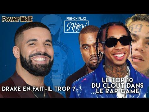 Drake en fait-il trop ? Le Top 10 du clout dans le Rap Game !