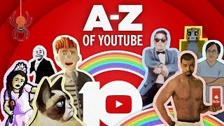 The A-Z of YouTube: Celebrating 10 Years | #HappyBirthdayYouTube