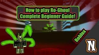 RoGhoul Guía completa para principiantes - Cómo jugar Roghoul como un tutorial de Ghoul Roblox Roghoul