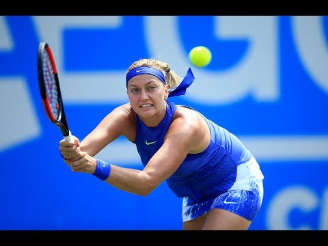 2017 Aegon Classic Second Round | Petra Kvitova vs Naomi Broady | WTA Highlights