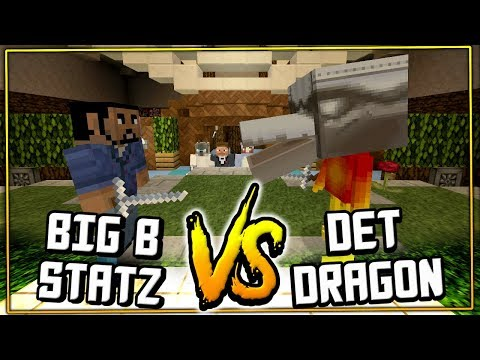 BIG B vs DETECTIVE DRAGON !! : Minecraft xbox Murder Mystery 2 [10]