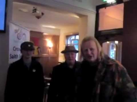 2 of 4 Bradley Mannning support evening Wrecsam, Saith Seren. 29/04/2012.MP4