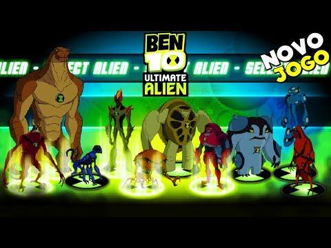 LANÇOU ! BEN 10 ULTIMATE ALIEN: THE ULTIMATE COLLECTION COM ALIENS SUPREMOS (Cartoon Network Games)