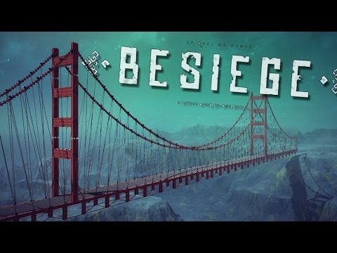 GOLDEN GATE BRIDGE! | Besiege #76 | Player Creations!