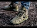 On-Feet: Nike Lunar Force 1 Duckboot Olive | 99kicks