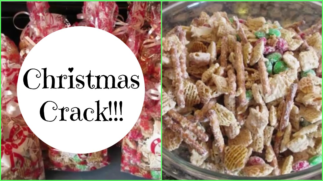 christmas crack chex it out