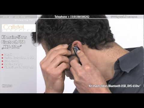 HZ1930-Oreillette Bluetooth® USB ''XHS-65